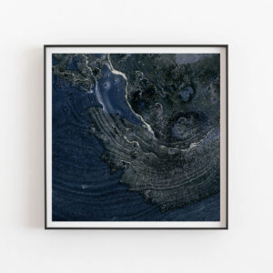 Billow & Breeze - 100 x 100 cm, Single edition, Earth and Ocean landscape fine art print by Mariëtte Kotzé